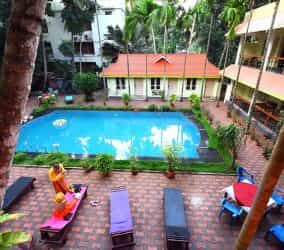 idealayurvedicresort pool view